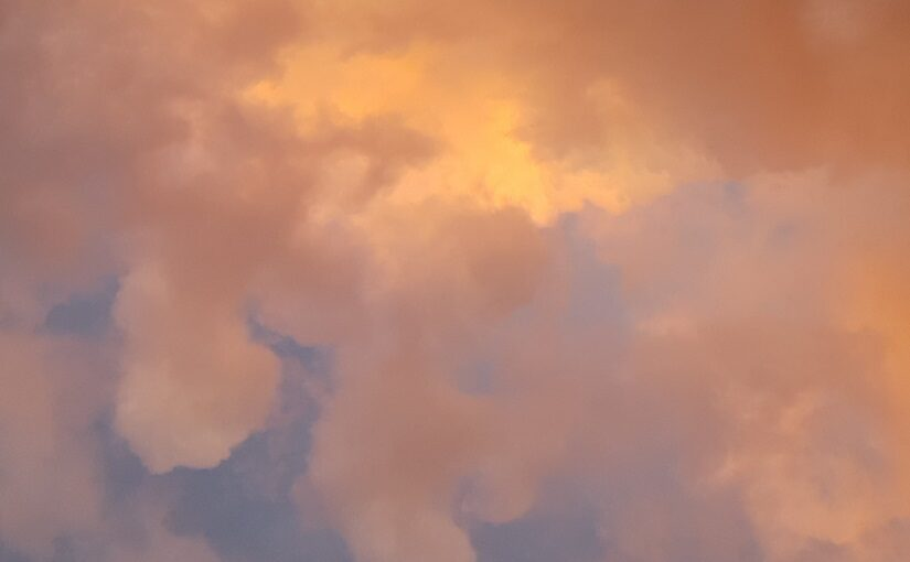 Smokey pastel clouds